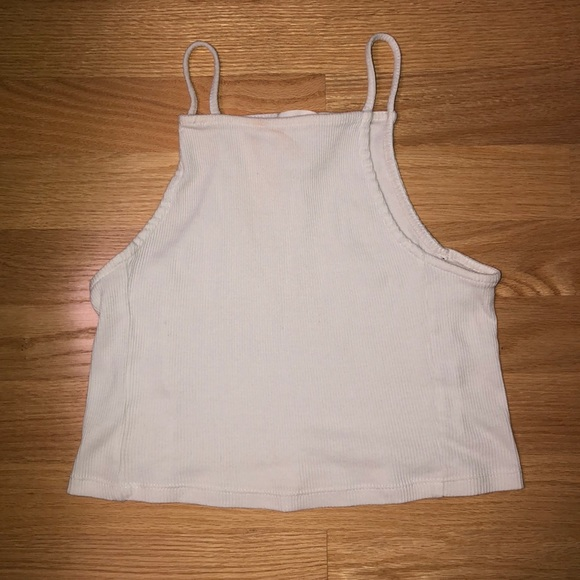 Forever 21 Tops - White square neck croptop